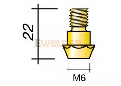 Držiak špičky M6 a M8 - 22 ERGOPLUS 26 / MB 26