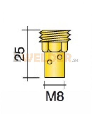 Držiak špičky M8 - 25 ERGOPLUS 500 / MB 501