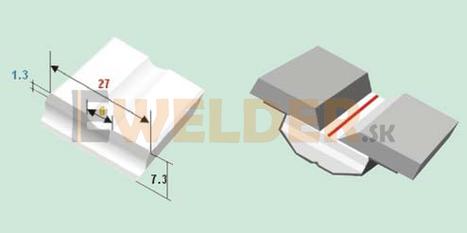 Keramická podložka plochá 6 mm samolepiaca