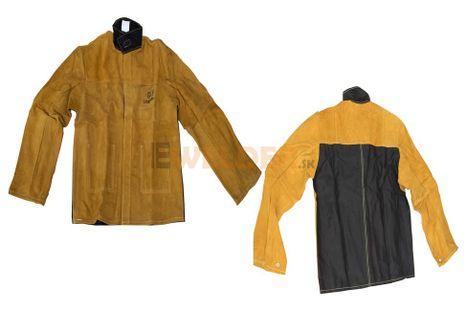 Kožený kabát pre zváračov LEOPARD