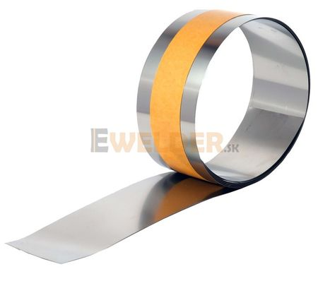 Páska nerezová samolepiaca 50x2000 mm